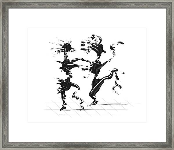 Dancing Couple 4 Framed Print