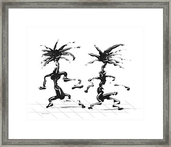 Dancing Couple 5 Framed Print