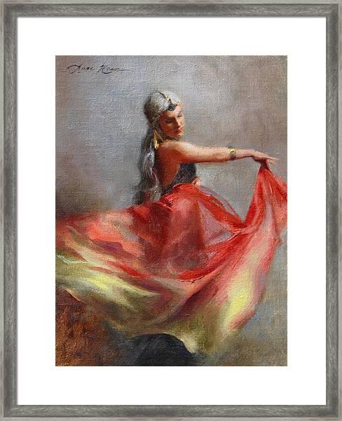 Dancing Gypsy Framed Print