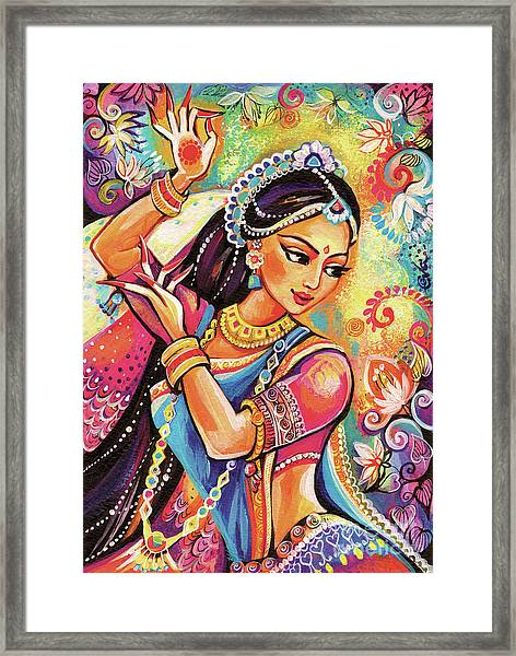 Dancing Of The Phoenix Framed Print