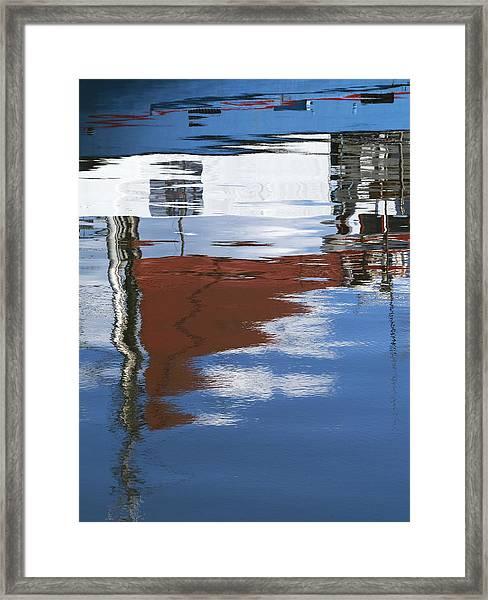 Danish Fisherman Framed Print by Wedigo Ferchland