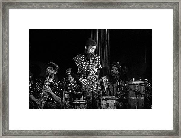 Danny Davis With Sun Ra Arkestra Framed Print