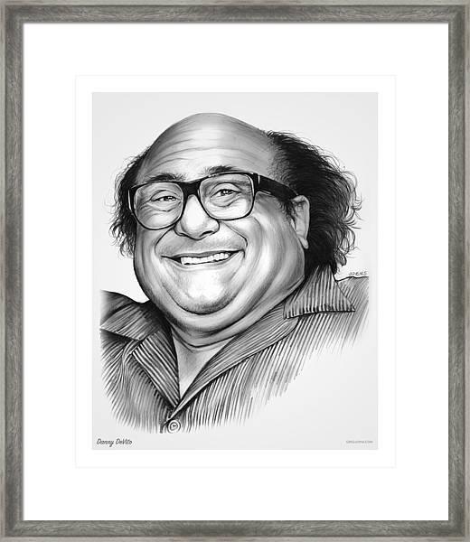 Danny Devito Framed Print