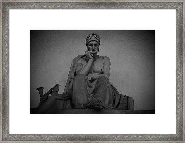 Dante Alighieri Framed Print