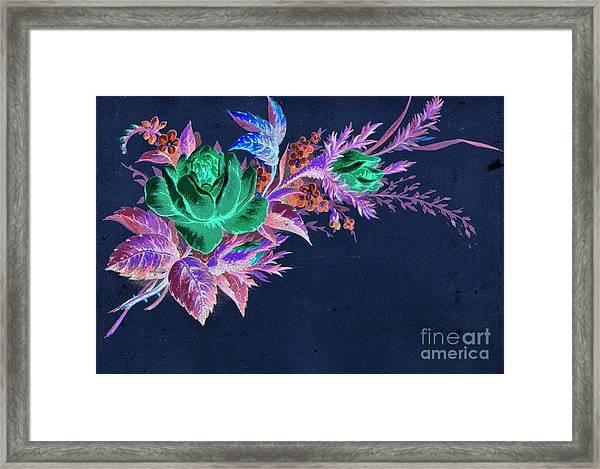 Dark Bouquet Framed Print
