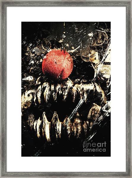 Dark Carnival Art Framed Print