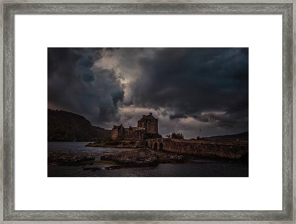 Dark Clouds #h2 Framed Print