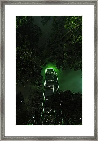 Dark Matter Framed Print