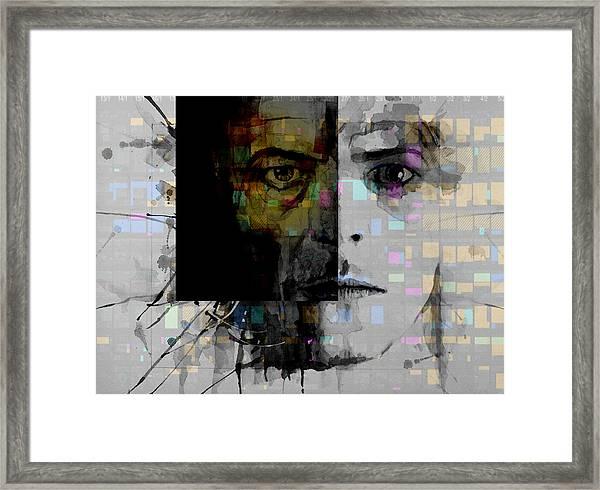 Dark Star Framed Print