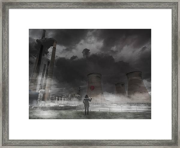 Dark Times Framed Print