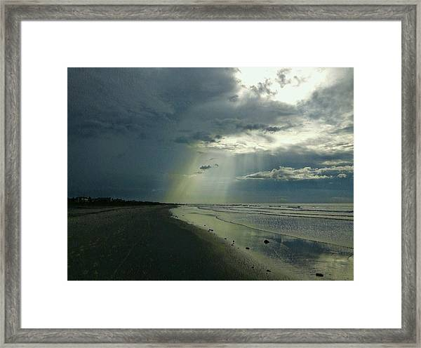 Dark To Enlightened Framed Print