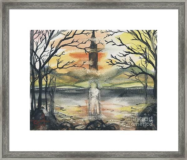 Dark Tower Framed Print