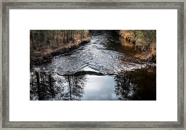 Dark Waters Framed Print