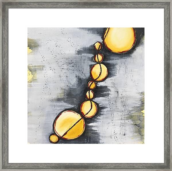 Darkness Failing Framed Print