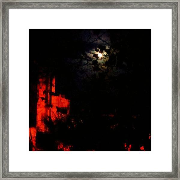 Darkness Framed Print