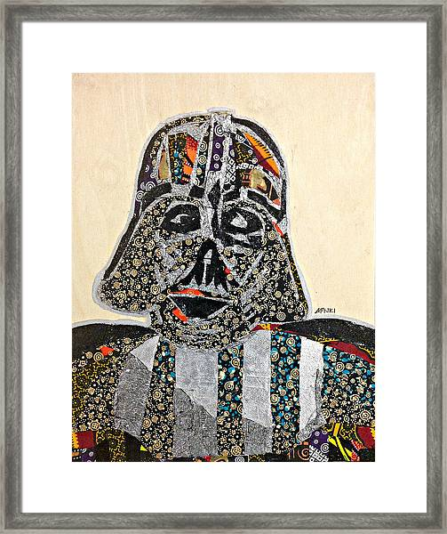 Darth Vader Star Wars Afrofuturist Collection Framed Print