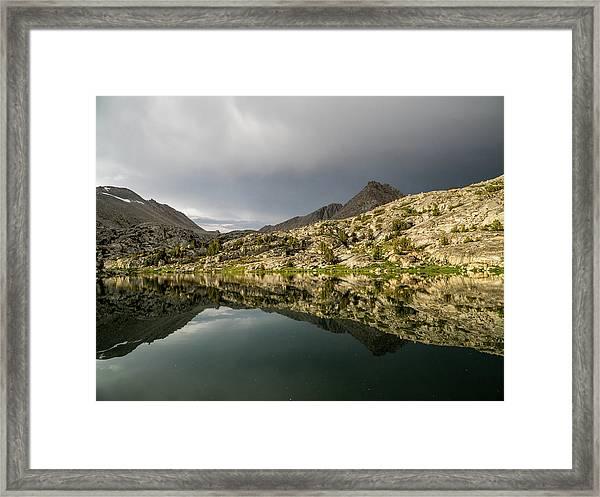 Darwin Lake Framed Print