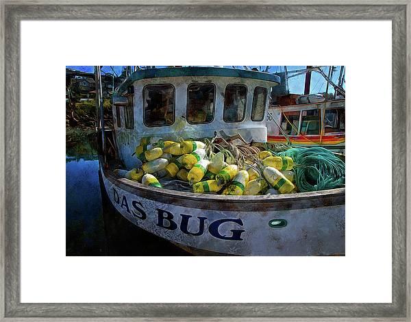 Das Bug Framed Print