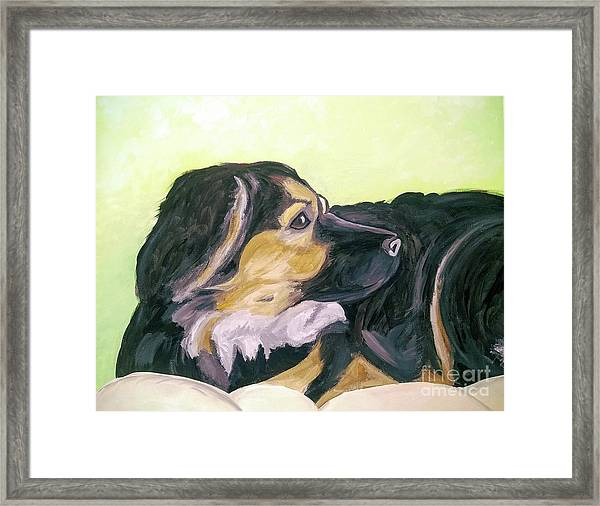 Date With Paint Sept 18 1 Framed Print