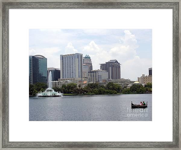 Dau On The Water Framed Print