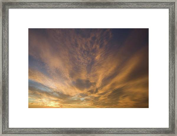 Framed Print featuring the photograph Dauphin Heavens by Dylan Punke