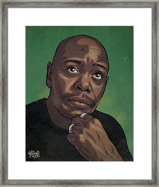 Dave Chappelle Framed Print