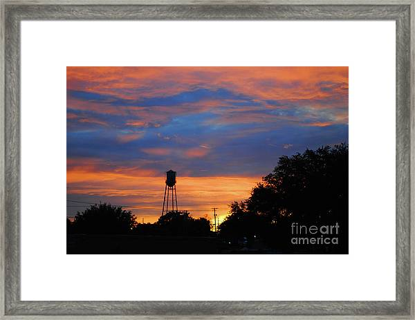 Davenport Tower Framed Print