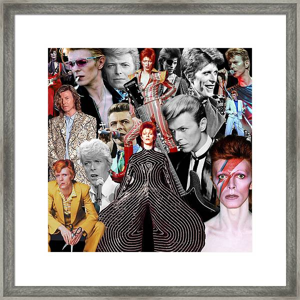 David Bowie 6 Framed Print