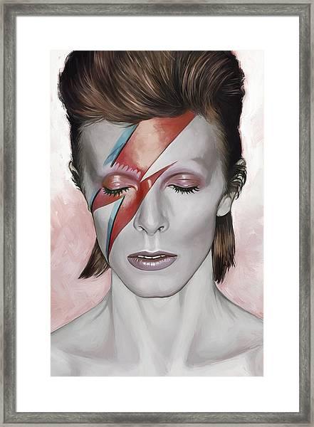 David Bowie Artwork 1 Framed Print