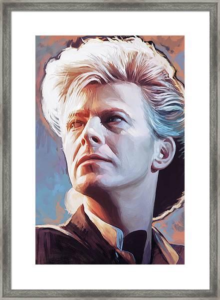 David Bowie Artwork 2 Framed Print