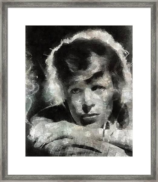 David Bowie By Mary Bassett Framed Print