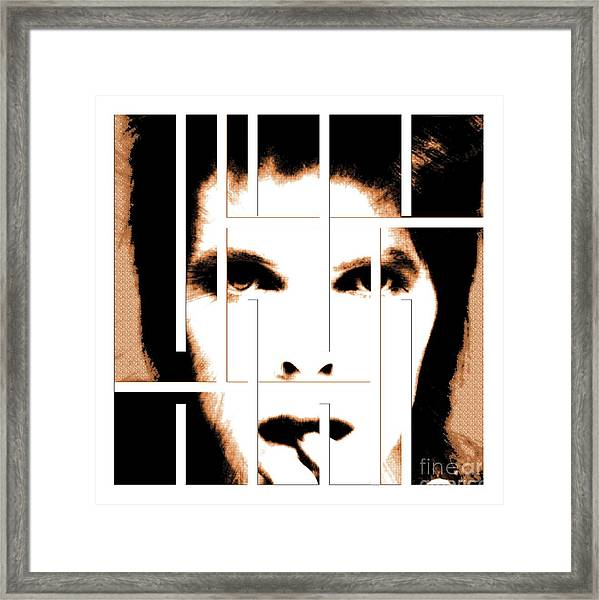 David Bowie / Changeling  Framed Print