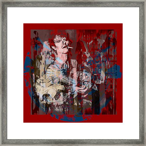 David Bowie    Scary Monsters Framed Print