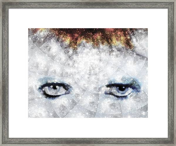 David Bowie / Stardust / Muted Colors  Framed Print