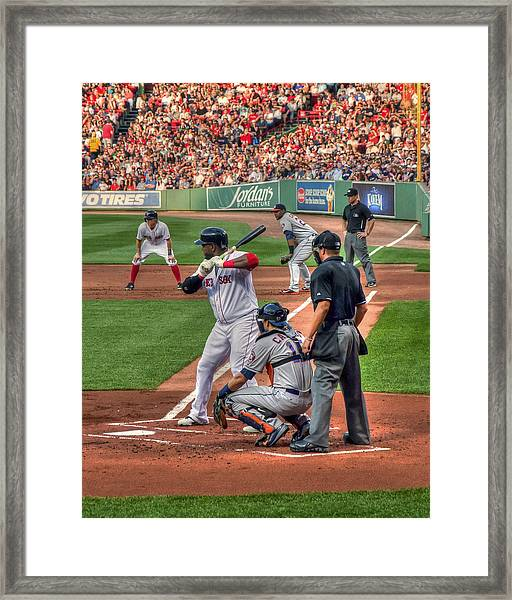 David Ortiz - Boston Red Sox  Framed Print