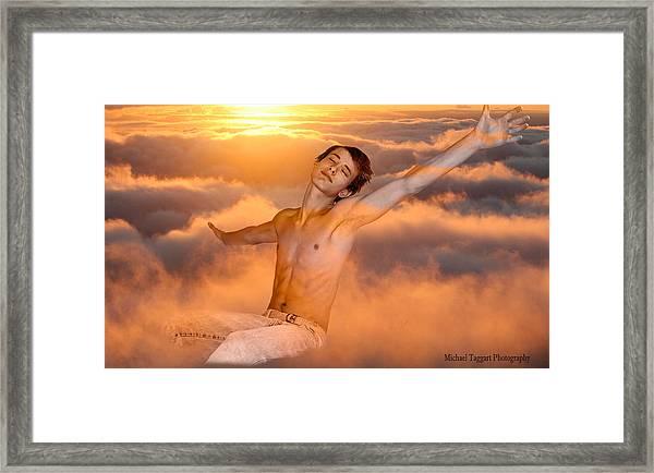 David Riedinger Peter Pan Framed Print