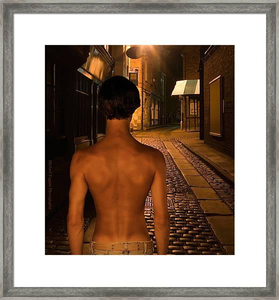 David Riedinger Young Sherlock Holmes Framed Print