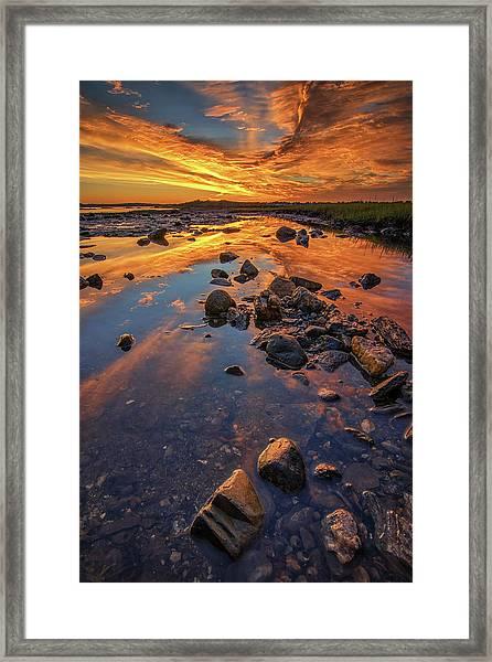 Dawn At Pott's Point Framed Print