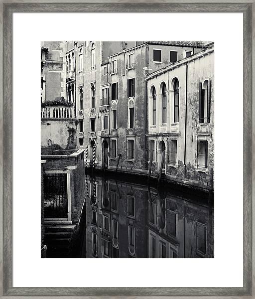 Dawn Canal, Venice, Italy Framed Print