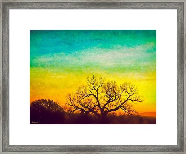 Dawn Magnitude Framed Print
