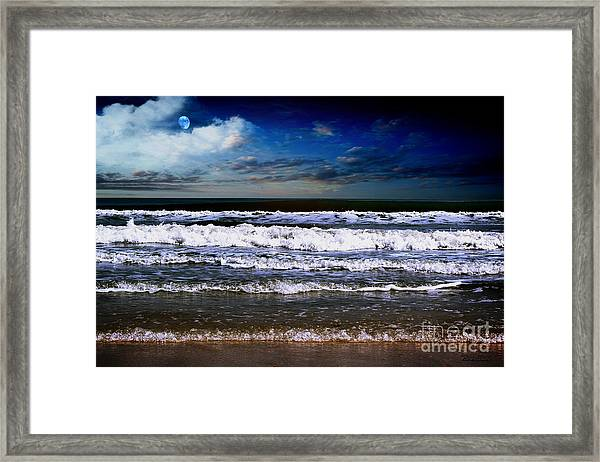 Dawn Of A New Day Seascape C2 Framed Print