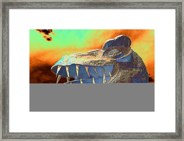 Dawn Of Really Old Framed Print