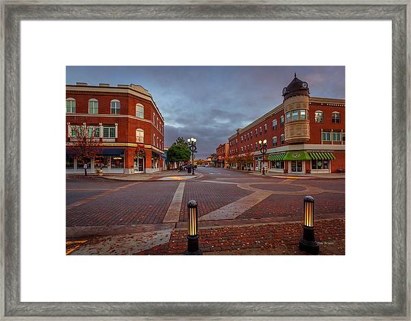 Dawn On Park Street Framed Print