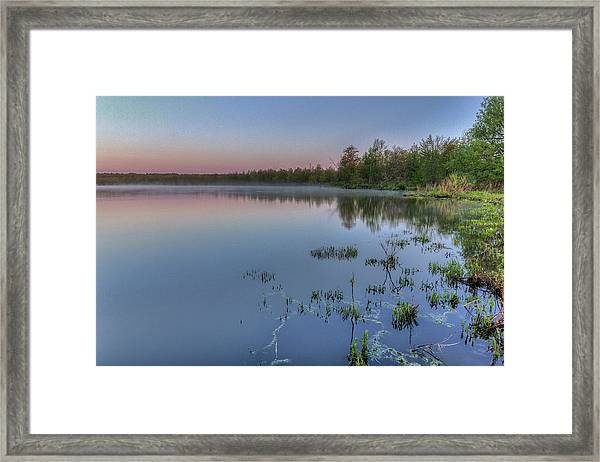 Dawn Over North Bay Framed Print