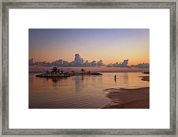 Dawn Reflection Framed Print