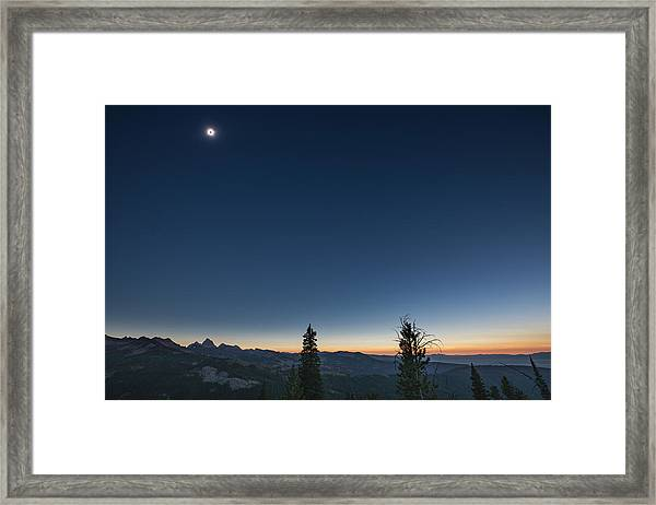 Day Becomes Night Framed Print