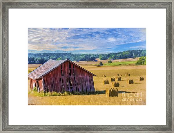 Day Of August Framed Print