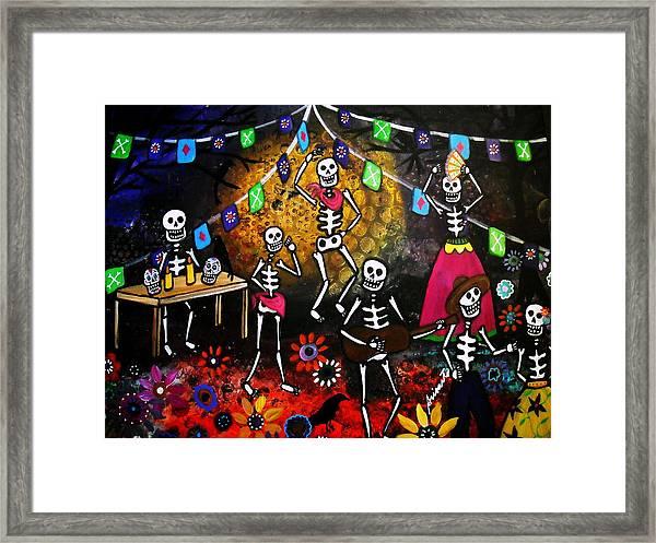 Day Of The Dead Festival Framed Print