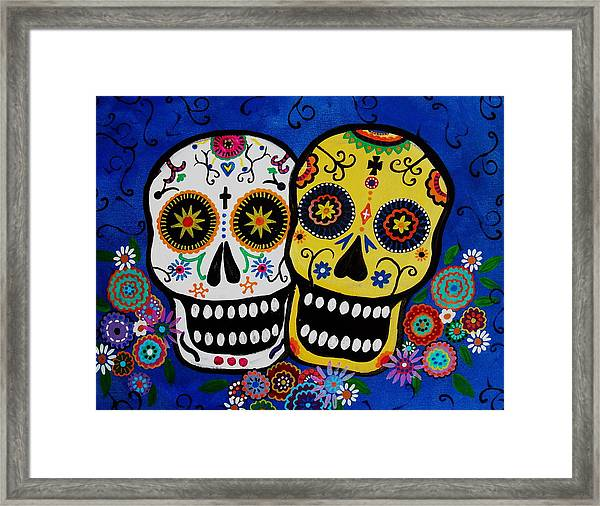 Day Of The Dead Sugar Framed Print