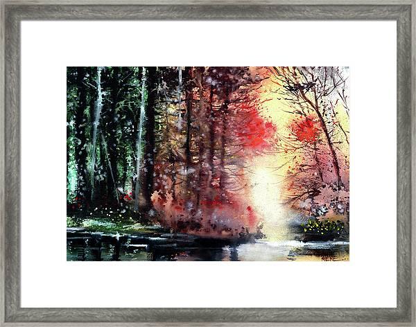 Daybreak 2 Framed Print